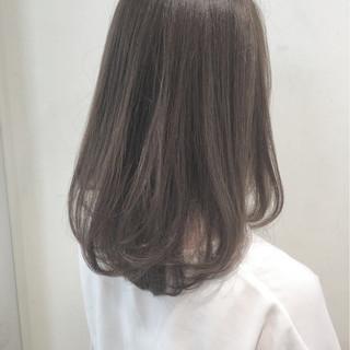 ロング 秋 ナチュラル 暗髪 ヘアスタイルや髪型の写真・画像