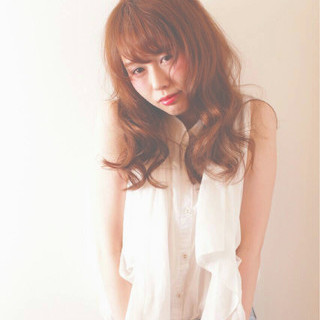 アンニュイ 大人かわいい かわいい ゆるふわ ヘアスタイルや髪型の写真・画像