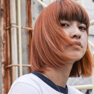 アウトドア ボブ 女子力 簡単ヘアアレンジ ヘアスタイルや髪型の写真・画像