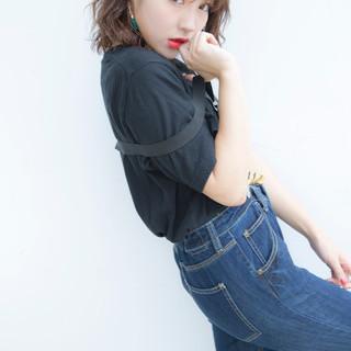 ヘアアクセ 外国人風 グレージュ ヘアピン ヘアスタイルや髪型の写真・画像