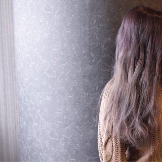 モテ髪 ストリート グラデーションカラー 外国人風 ヘアスタイルや髪型の写真・画像