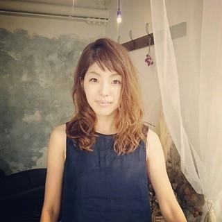 夏 アンニュイ エレガント 上品 ヘアスタイルや髪型の写真・画像