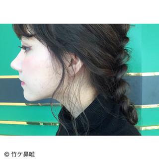 大人かわいい ロング ショート ヘアアレンジ ヘアスタイルや髪型の写真・画像
