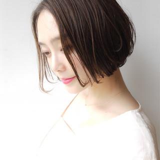 ショートボブ 大人かわいい コンサバ 女子力 ヘアスタイルや髪型の写真・画像