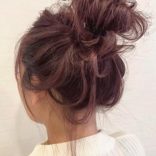 デート ストリート ヘアアレンジ セミロング ヘアスタイルや髪型の写真・画像