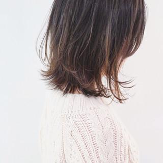 アンニュイほつれヘア フェミニン レイヤーカット ボブ ヘアスタイルや髪型の写真・画像 ヘアスタイルや髪型の写真・画像