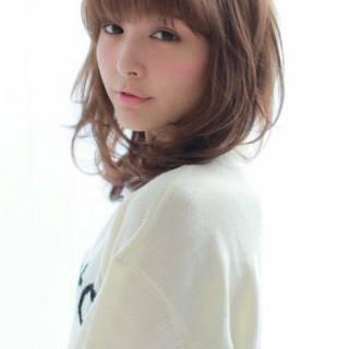 大人かわいい モテ髪 ゆるふわ フェミニン ヘアスタイルや髪型の写真・画像 ヘアスタイルや髪型の写真・画像