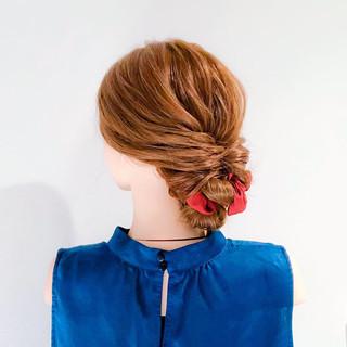 結婚式 ロング フェミニン 簡単ヘアアレンジ ヘアスタイルや髪型の写真・画像 | 美容師HIRO/Amoute代表 / Amoute/アムティ