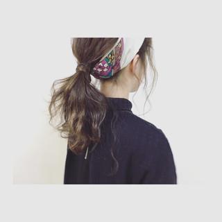 セミロング 外国人風 ヘアアレンジ ショート ヘアスタイルや髪型の写真・画像 ヘアスタイルや髪型の写真・画像