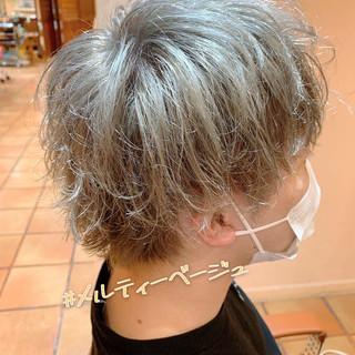 マッシュショート ストリート マッシュMIX ショート ヘアスタイルや髪型の写真・画像