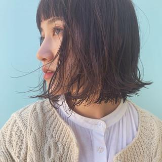 秋 ミニボブ ショートヘア ショートボブ ヘアスタイルや髪型の写真・画像