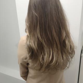 ハイライト グラデーションカラー エレガント 外国人風カラー ヘアスタイルや髪型の写真・画像