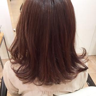 エレガント デート ラベンダーピンク イルミナカラー ヘアスタイルや髪型の写真・画像 ヘアスタイルや髪型の写真・画像