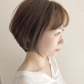 ショート コンサバ ヘアアレンジ 大人かわいい ヘアスタイルや髪型の写真・画像