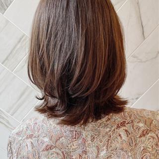 髪質改善カラー 銀座美容室 髪質改善トリートメント レイヤーボブ ヘアスタイルや髪型の写真・画像