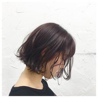 モーブ ヘアアレンジ グラデーションカラー 原宿系 ヘアスタイルや髪型の写真・画像