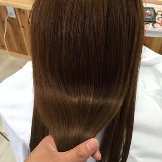 爽やか 艶髪 ナチュラル トリートメント ヘアスタイルや髪型の写真・画像
