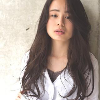 ロング 外国人風 秋 透明感 ヘアスタイルや髪型の写真・画像