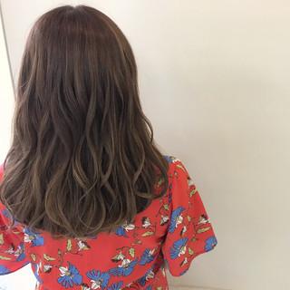 涼しげ ヘアアレンジ 夏 ミディアム ヘアスタイルや髪型の写真・画像