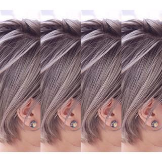 バレイヤージュ アンニュイ グラデーションカラー ハイライト ヘアスタイルや髪型の写真・画像 ヘアスタイルや髪型の写真・画像