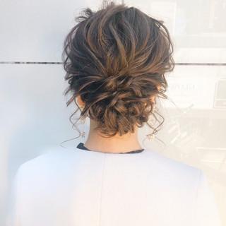 簡単ヘアアレンジ ヘアアレンジ 結婚式 デート ヘアスタイルや髪型の写真・画像 ヘアスタイルや髪型の写真・画像