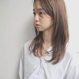 女子会 オフィス 透明感 デート ヘアスタイルや髪型の写真・画像
