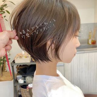 ショート フェミニン ゆるふわ パーティー ヘアスタイルや髪型の写真・画像