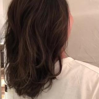ハイライト 外国人風カラー 外国人風 グレージュ ヘアスタイルや髪型の写真・画像