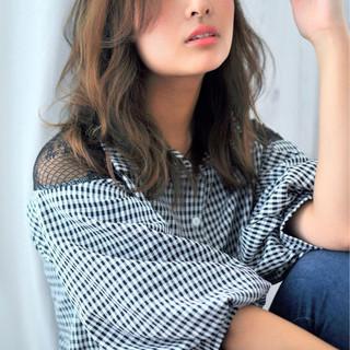 秋 コンサバ ブラウンベージュ 女子力 ヘアスタイルや髪型の写真・画像 ヘアスタイルや髪型の写真・画像