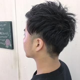 刈り上げ モテ髪 メンズ ショート ヘアスタイルや髪型の写真・画像