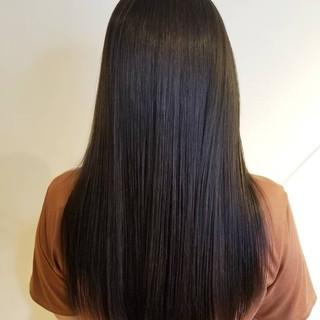 髪質改善トリートメント ナチュラル トリートメント ロング ヘアスタイルや髪型の写真・画像