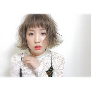 ナチュラル ニュアンス 小顔 こなれ感 ヘアスタイルや髪型の写真・画像
