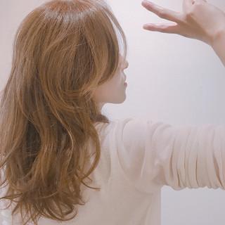 ロング デート 簡単ヘアアレンジ ゆるふわ ヘアスタイルや髪型の写真・画像