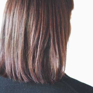 ナチュラル ミディアム ラベンダーカラー ラベンダーグレー ヘアスタイルや髪型の写真・画像