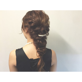 ショート ヘアアレンジ 暗髪 ロング ヘアスタイルや髪型の写真・画像