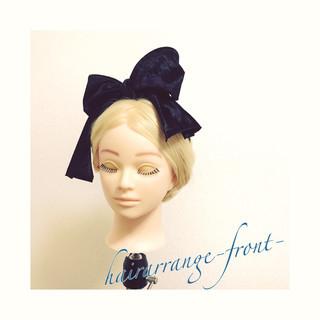 ギブソンタック ヘアアレンジ ロング ショート ヘアスタイルや髪型の写真・画像