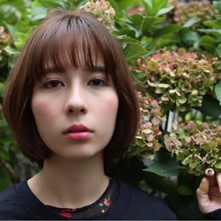 ショート 木村カエラ ボブ 冬 ヘアスタイルや髪型の写真・画像