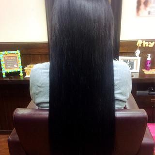 冬 ストレート ナチュラル モテ髪 ヘアスタイルや髪型の写真・画像