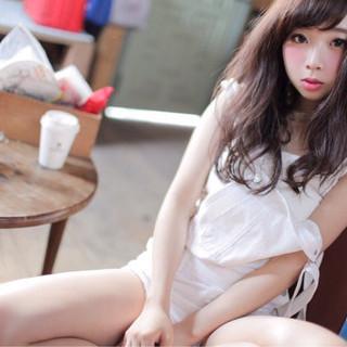 大人かわいい 暗髪 ナチュラル 色気 ヘアスタイルや髪型の写真・画像