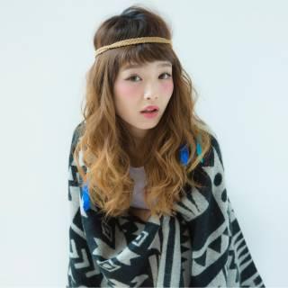 波ウェーブ 外国人風 ストリート ショート ヘアスタイルや髪型の写真・画像