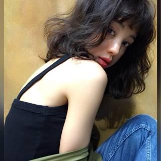 春 ミディアム ストリート ヘアスタイルや髪型の写真・画像