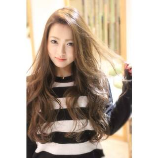 外国人風 ロング 愛され 大人かわいい ヘアスタイルや髪型の写真・画像