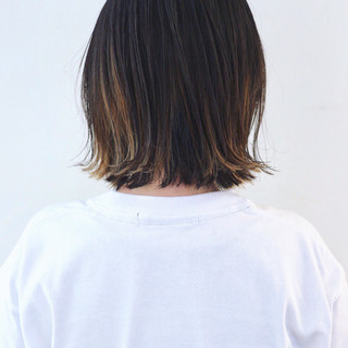 グラデーションカラー バレイヤージュ インナーカラー ストリート ヘアスタイルや髪型の写真・画像 ヘアスタイルや髪型の写真・画像