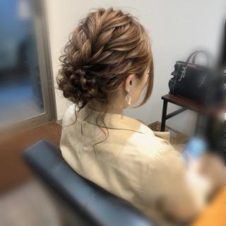 アップ ヘアセット 成人式 結婚式 ヘアスタイルや髪型の写真・画像