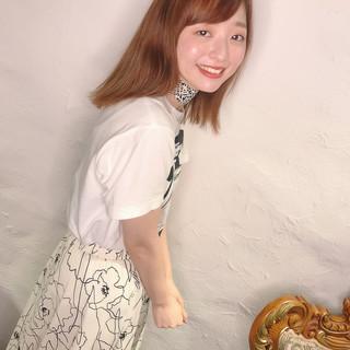 髪質改善トリートメント ミディアム ナチュラル フォルムコントロールプレックス髪質改善 ヘアスタイルや髪型の写真・画像