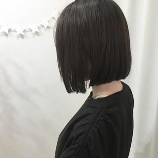 オフィス 大人女子 ナチュラル アッシュ ヘアスタイルや髪型の写真・画像