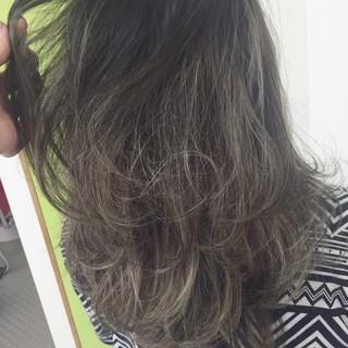 ヘアアレンジ 大人女子 セミロング ストリート ヘアスタイルや髪型の写真・画像