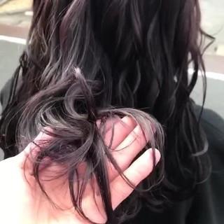 フェミニン ブリーチ無し デート 透明感カラー ヘアスタイルや髪型の写真・画像
