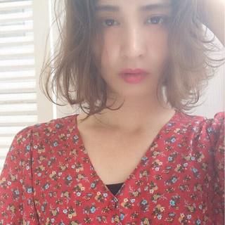 前髪あり ストリート 外国人風 パーマ ヘアスタイルや髪型の写真・画像