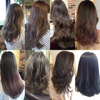 グラデーションカラー 外国人風 トレンド ストリート ヘアスタイルや髪型の写真・画像